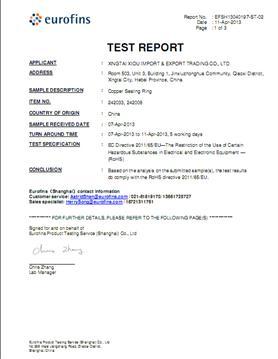 ROHS report