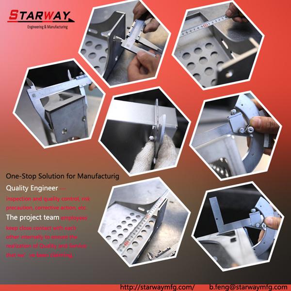 sheet metal fabrication QC