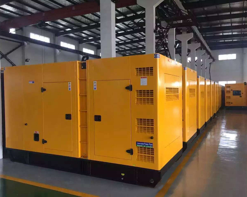 Heavy Duty Silent Power Diesel Genset