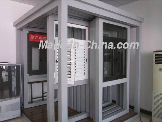 aluminium window and door showing