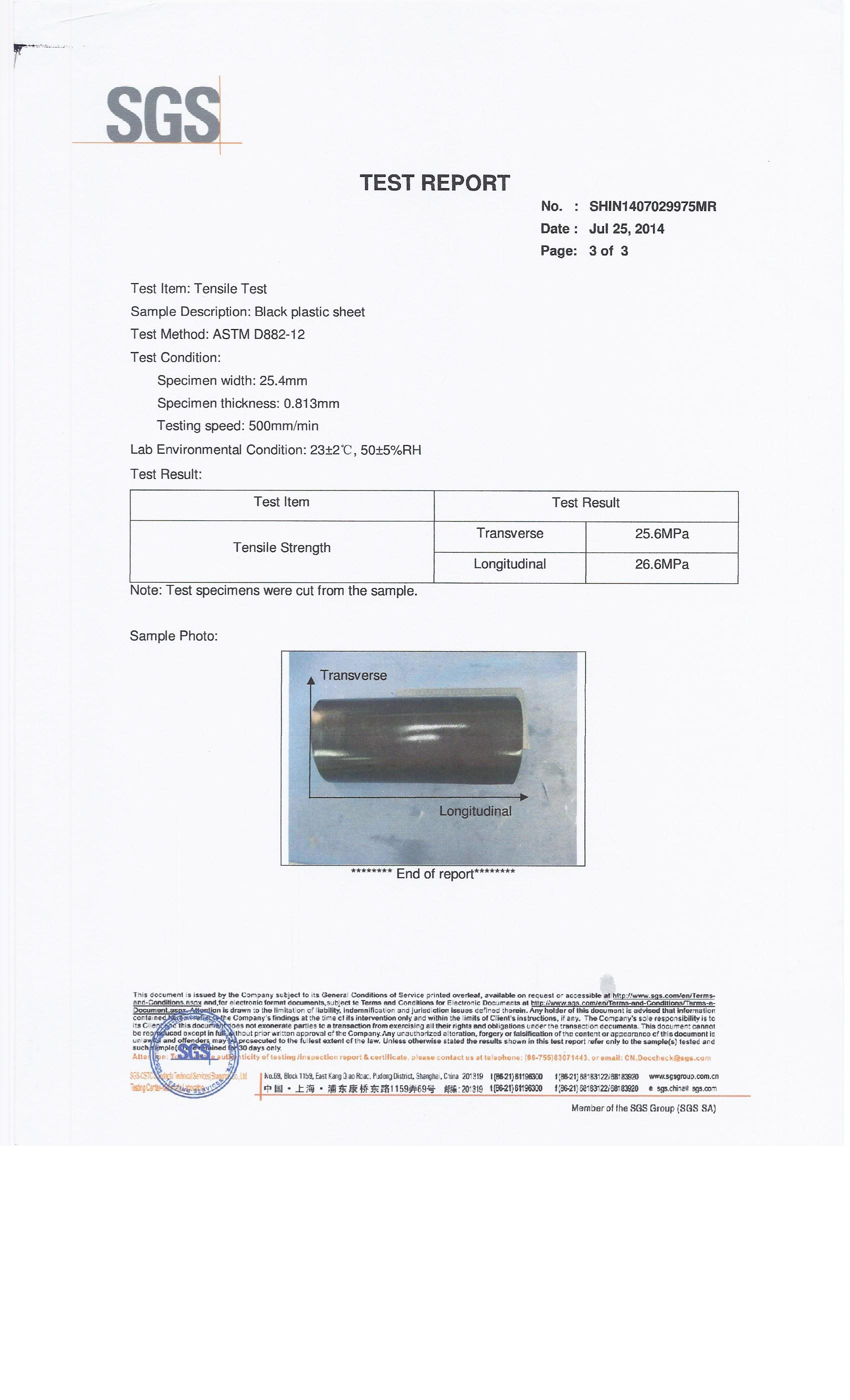tensile test report Trb's national cooperative highway research program (nchrp) report 530:  evaluation of indirect tensile test (idt) procedures for.
