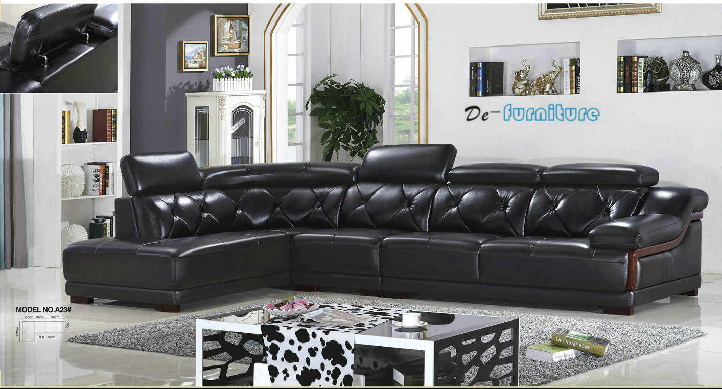 How to choose leather sofa
