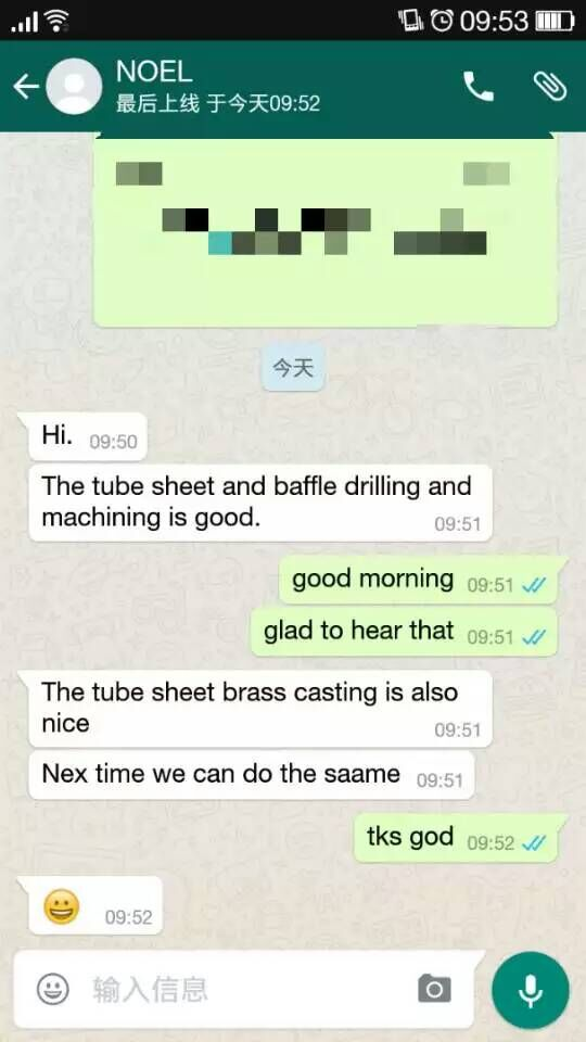 Malaysian client feedback
