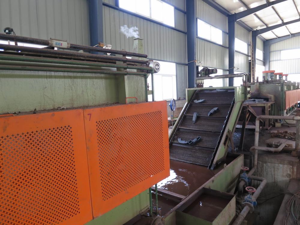 3. Our Core equipment --Mesh Belt Furnace