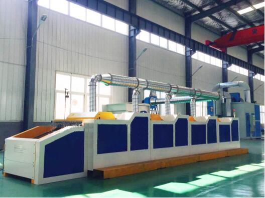 high production waste fabric recycling machine