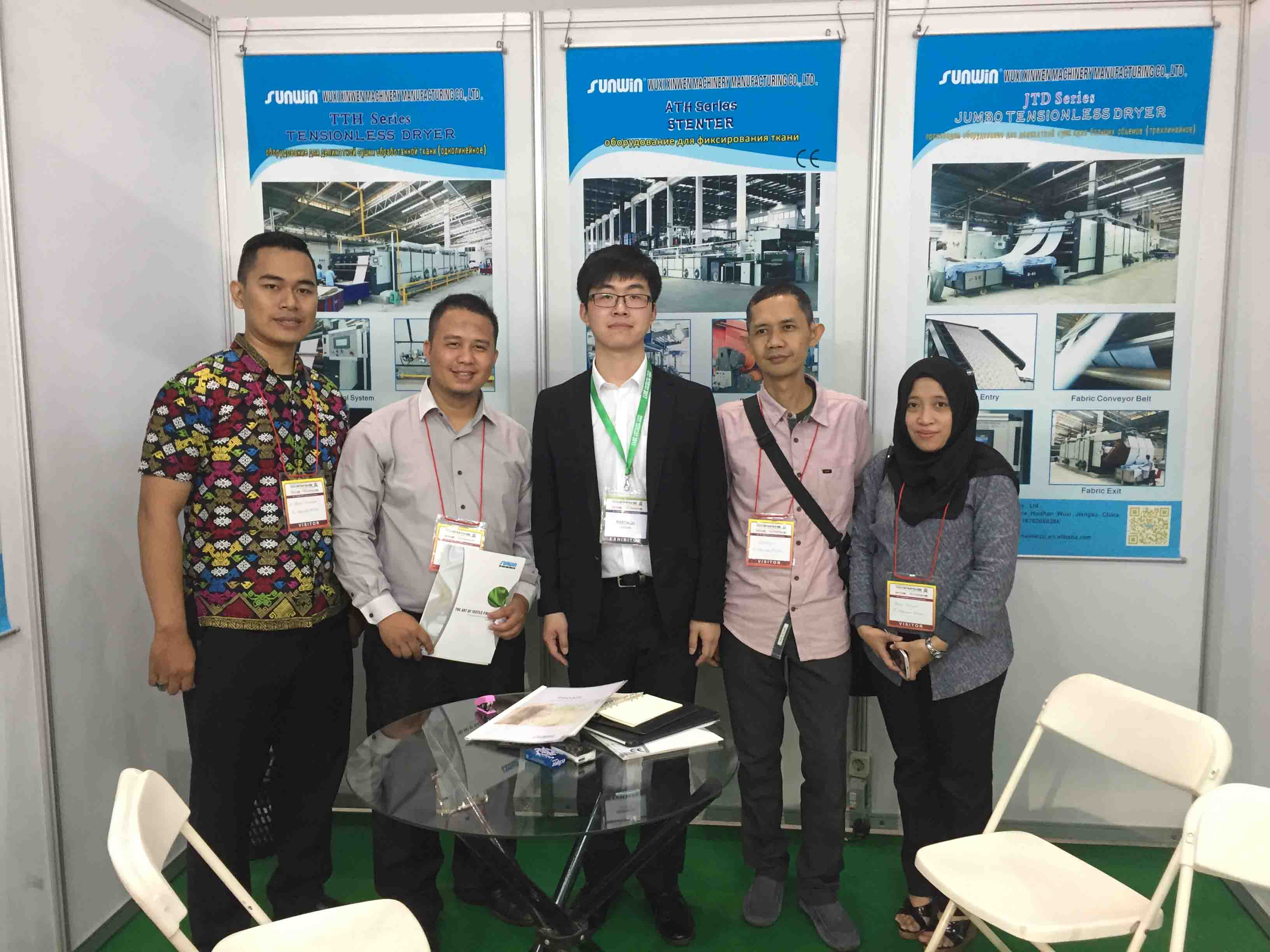 Indo Intertex 2017 in Jakarta, Indonesia
