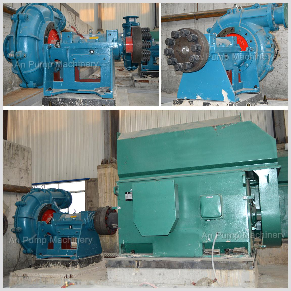 Slurry Pump on Site in Chile for Coal Washery
