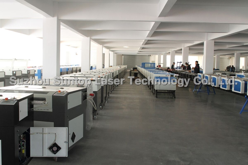 Laser cutting and engraving machine workshop-1