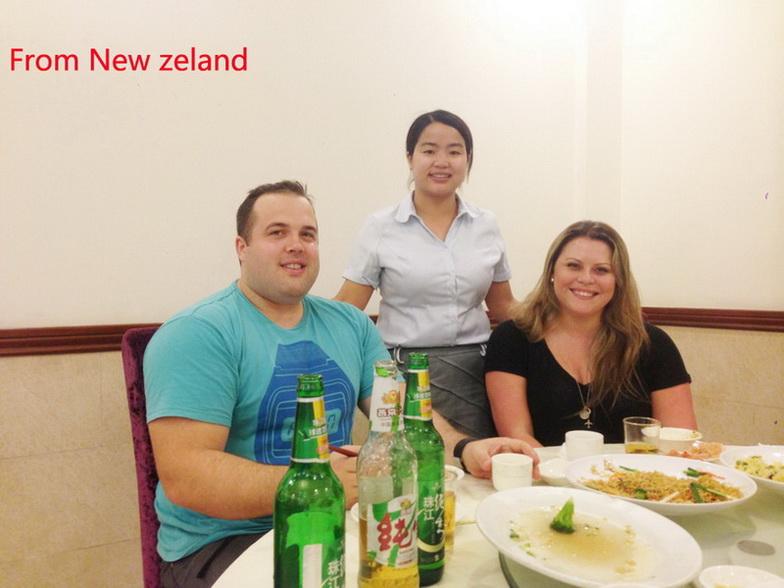 New Zealand customer visit