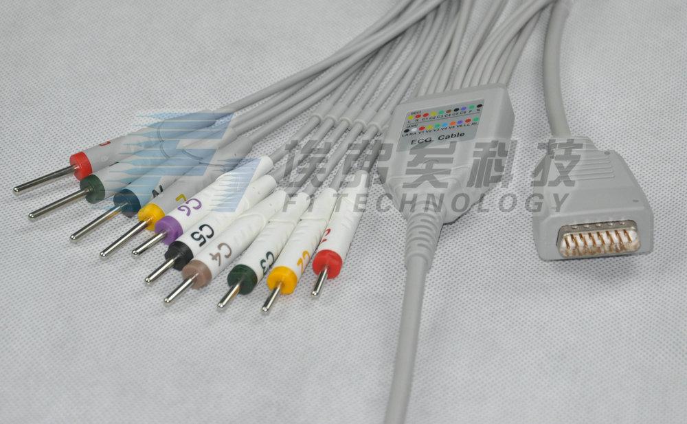 One 10-lead ECG leadwire