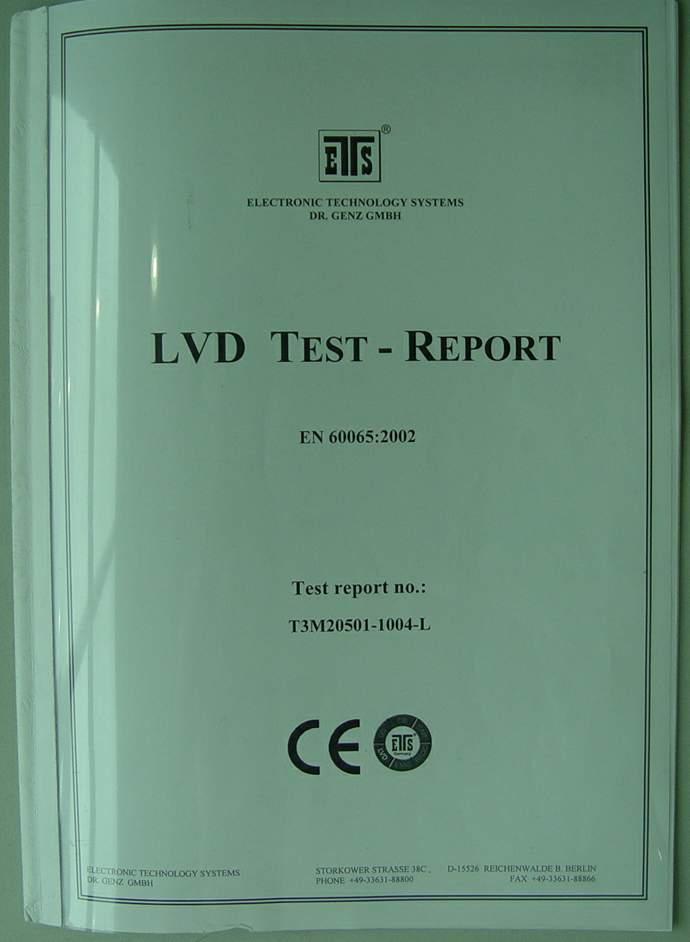 CE of LVD