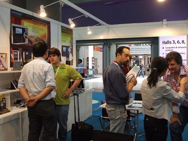 Granding Participate China Sourcing Fair In Hongkong