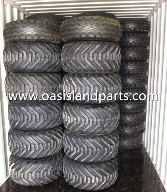 Flotation implement tyre Loading