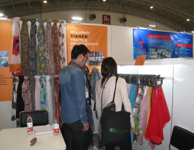 shanghai fabric exhibition show