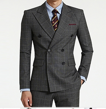 Men's classic wool suit