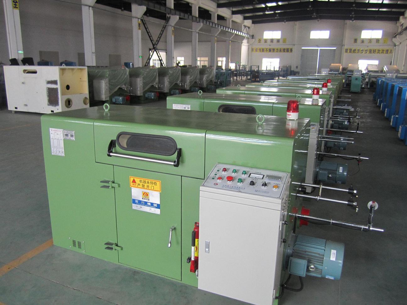 500bobbin copper wire twisting machine