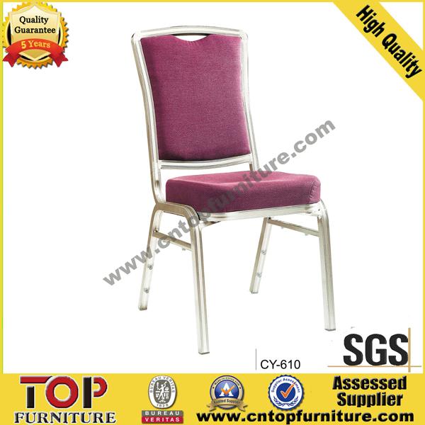 Aluminum comfortable Hotel Banquet Chair