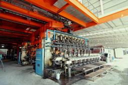 I. S. forming machine
