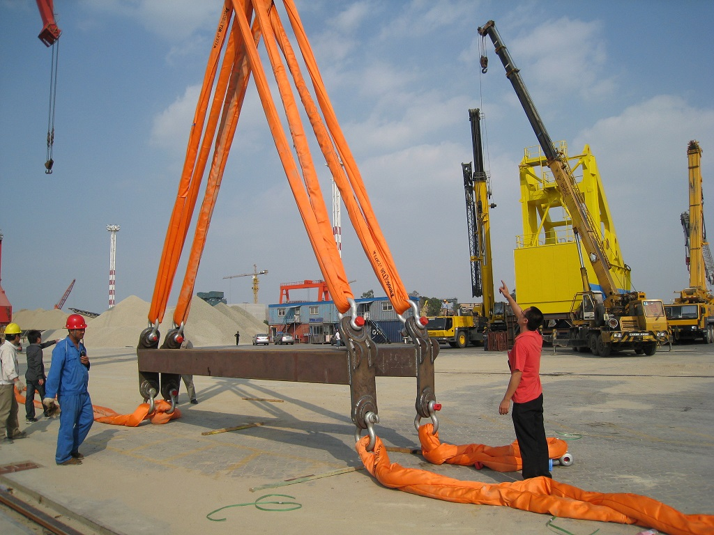 70 TONS ROUND SLING