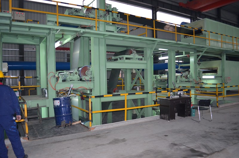 Color Coated Steel Coil Product Line