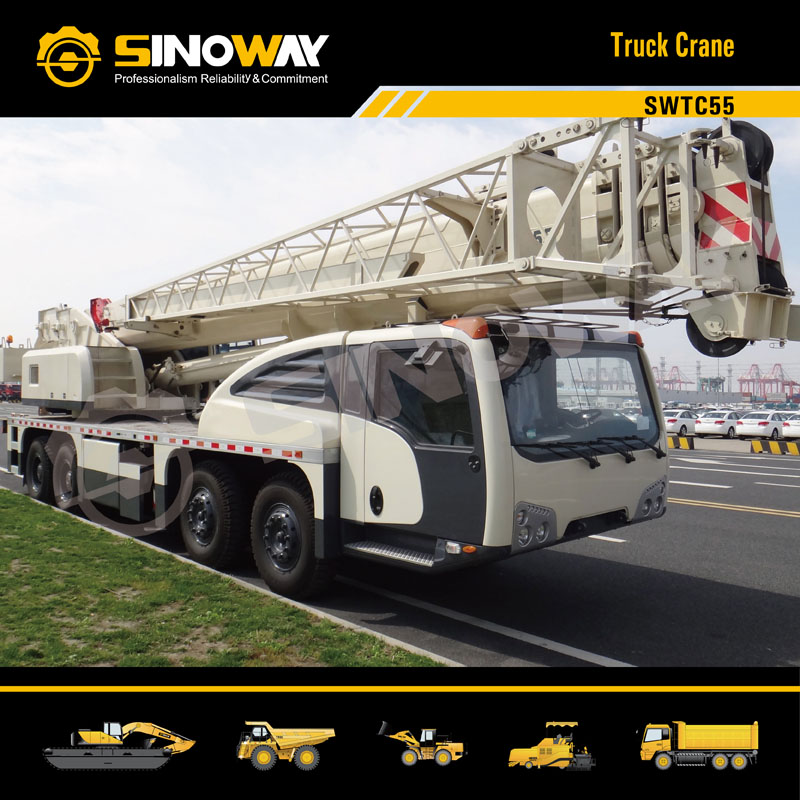 Sinoway Truck Crane SWTC55