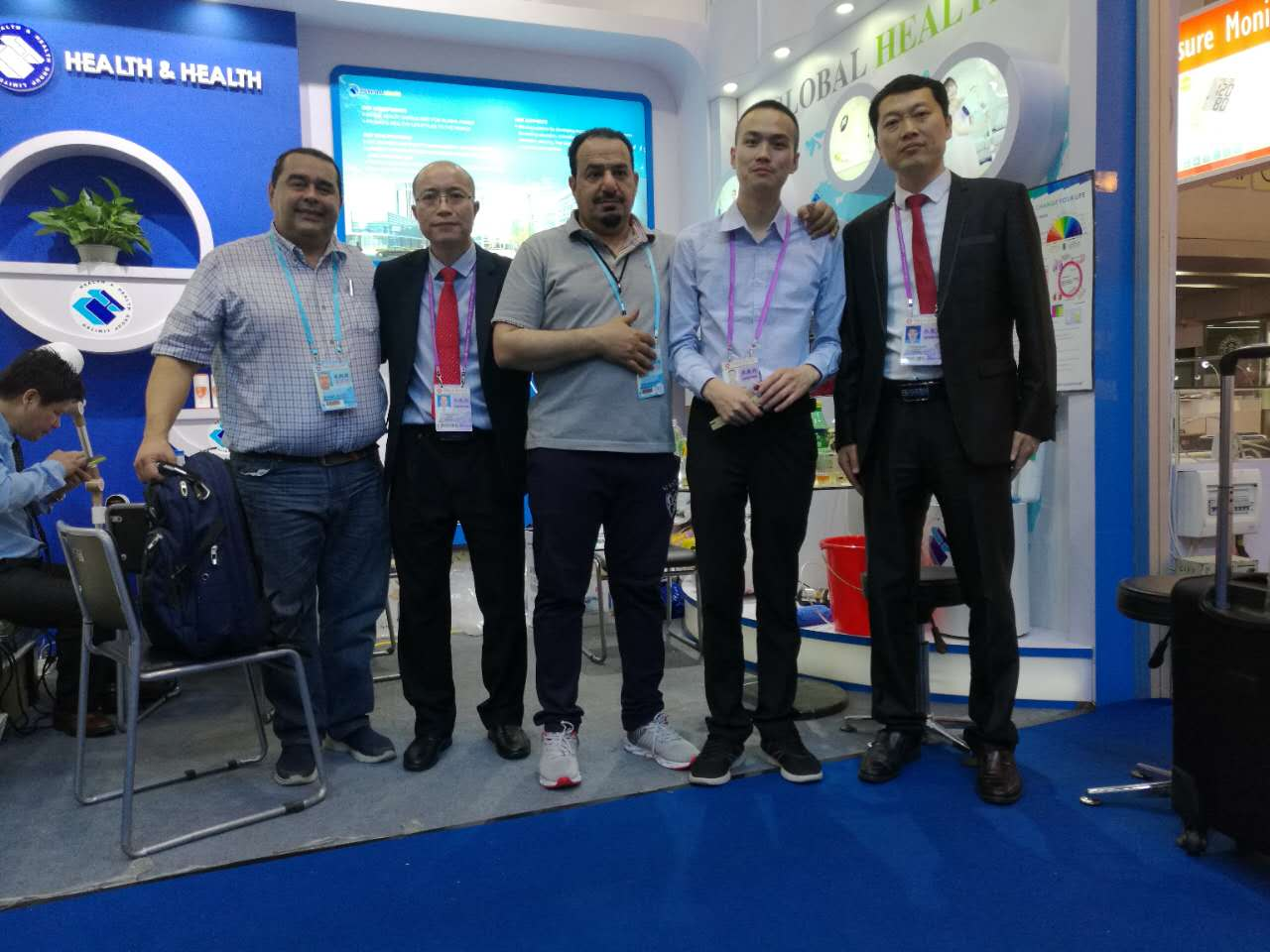 Warmly celebrate that we succeeded in attending 121th Canton Fair