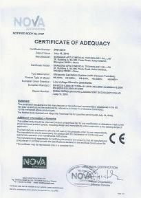 Cavitation Beauty CE Certificate
