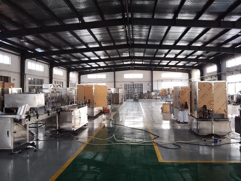 filling machine work shop