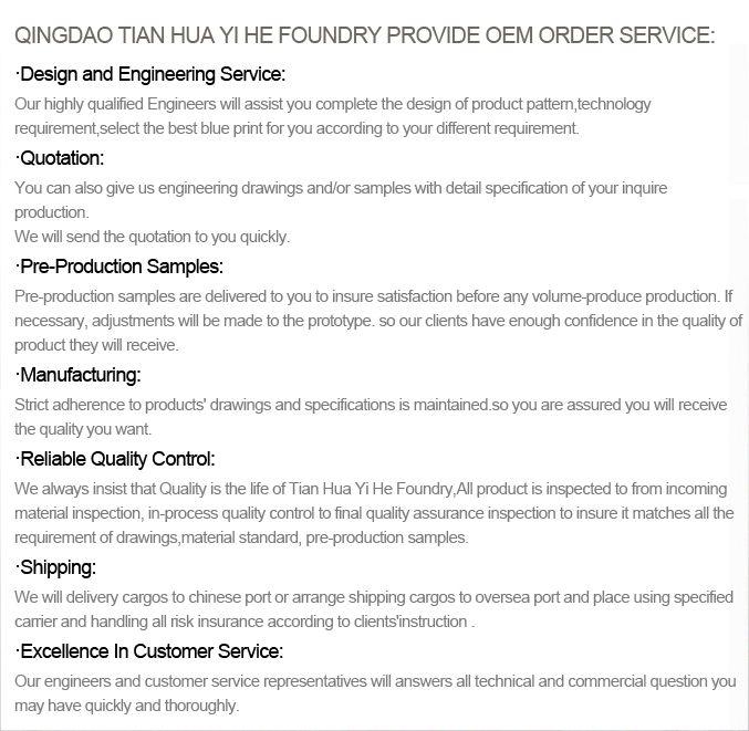 We Provide OEM Order Service