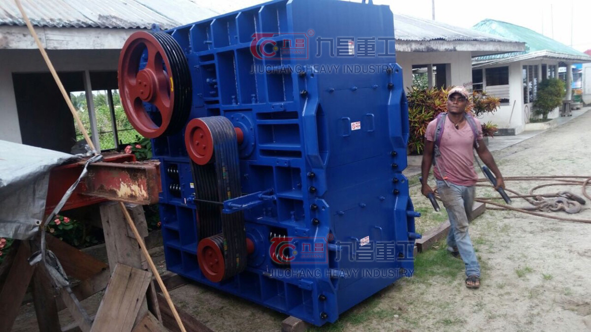 Our Roller Crusher in Guyana