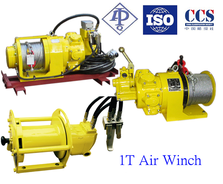 Offshore Application Air Tugger Winch 1T Series