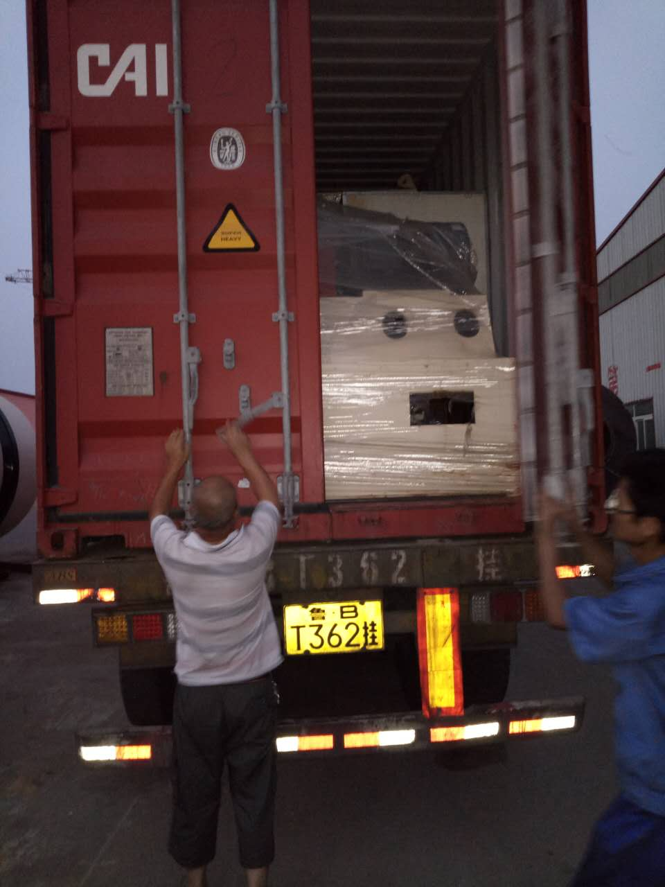 Italy container dispatching