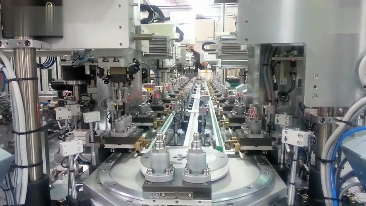 A brand new advanced and automative production line is in assembling