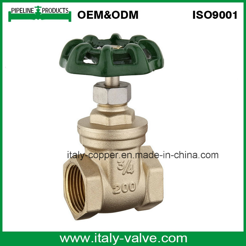 STANDARD FORGED BRASS GATE VALVE