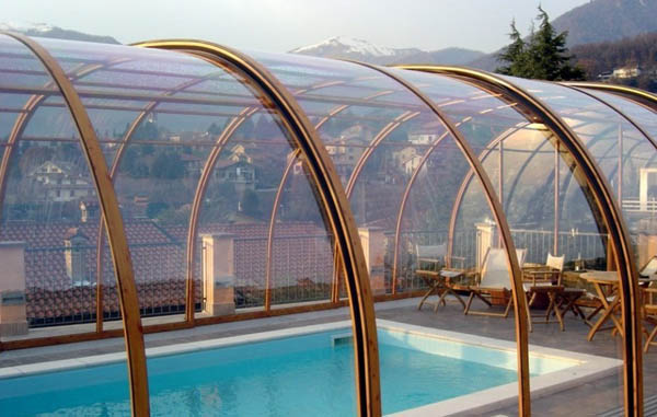 polycarbonate sheet swimming pool cover