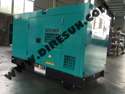 DIRESUN GROUP DIESEL GENERATOR SET MANUFACTURING BASE SHOW 3