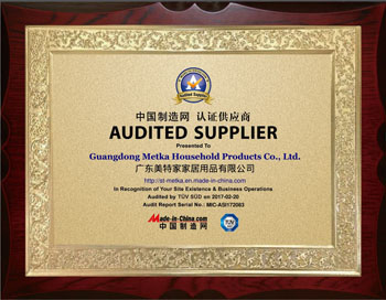 TUV SUV Certificate