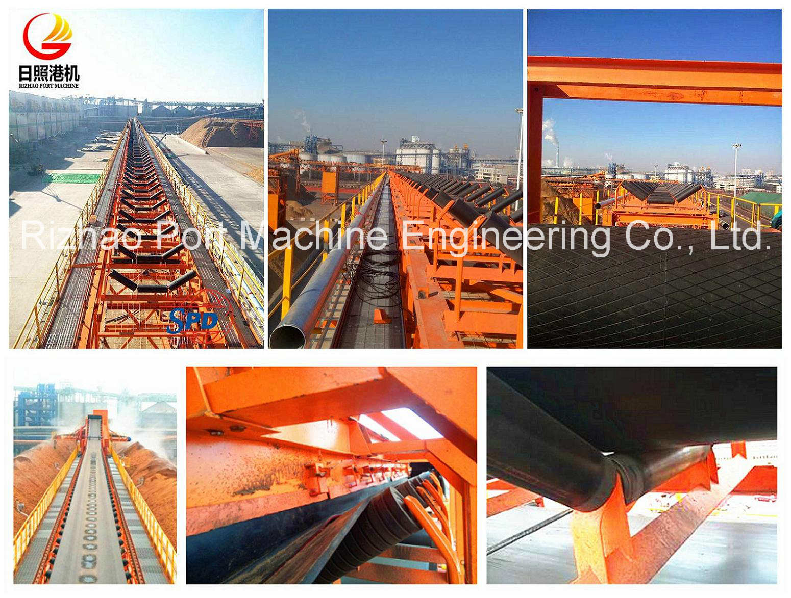 Belt Conveyor System for wood chips