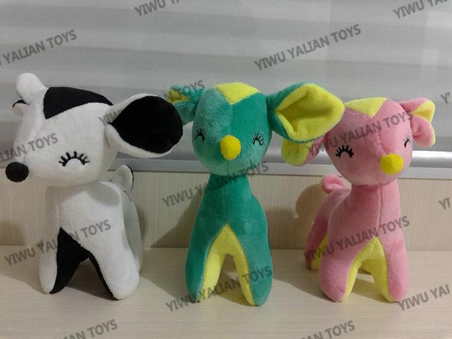 custom animal plush toy samples