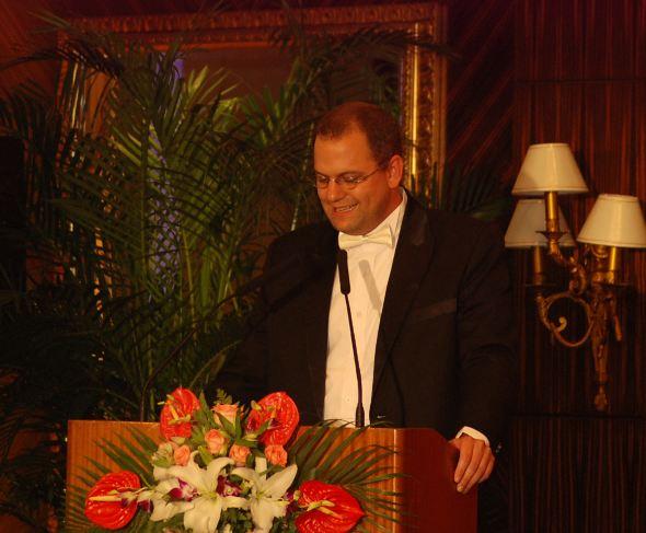 Patrick Becker,The marketing director of KUM