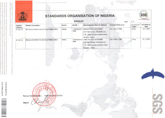 SONCAP Quality Certification