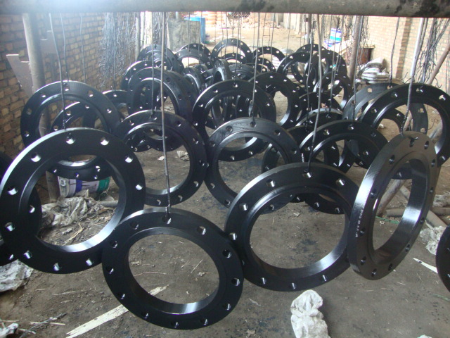 Black painting Flanges