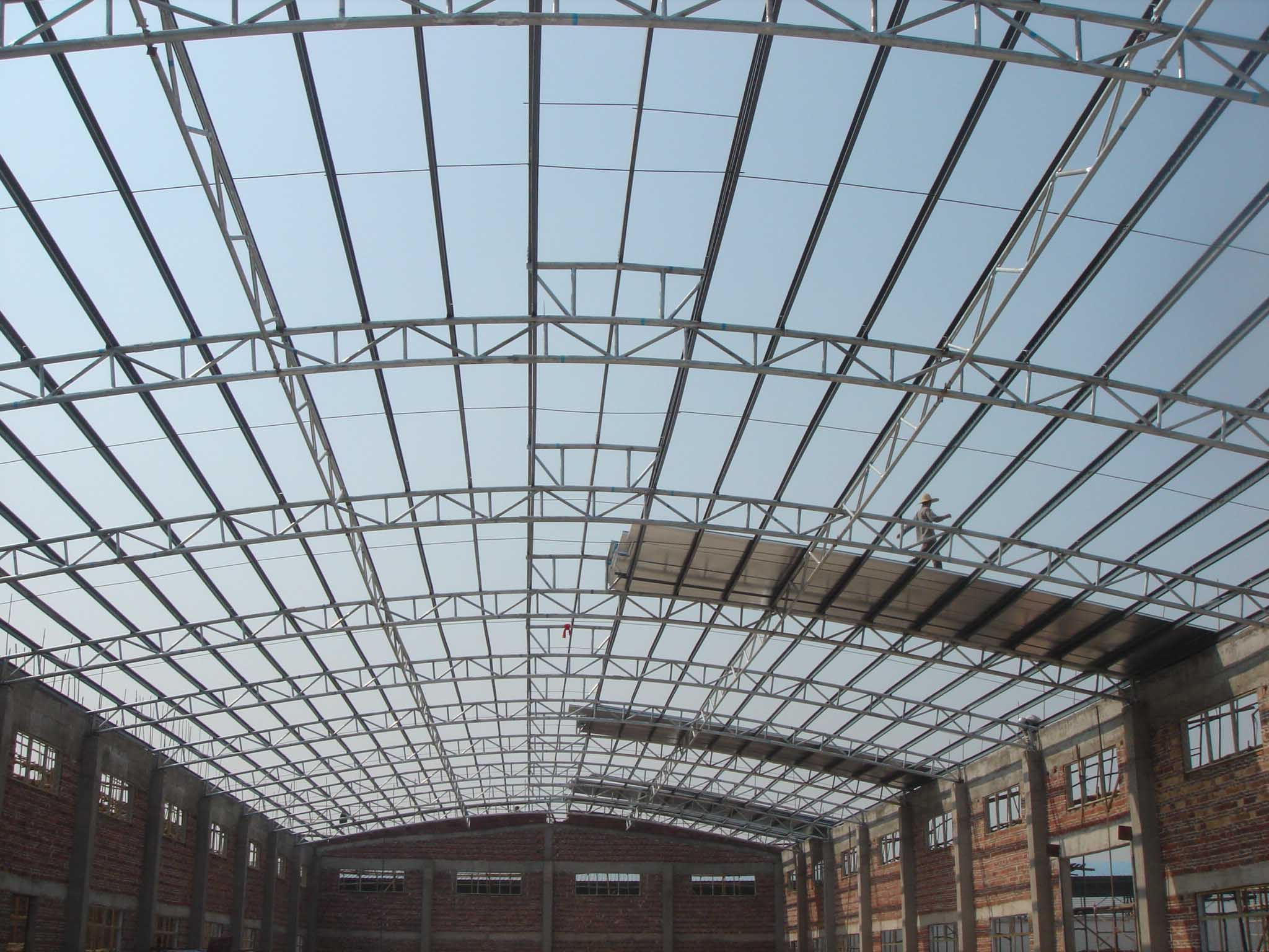 Roofing Warehouse Amp Simple Steel Roofing Warehouse Project
