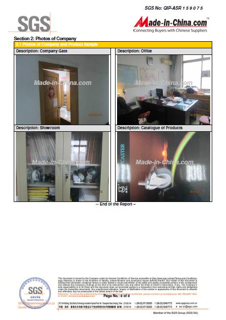 OFFICE CERTIFIED by SGS