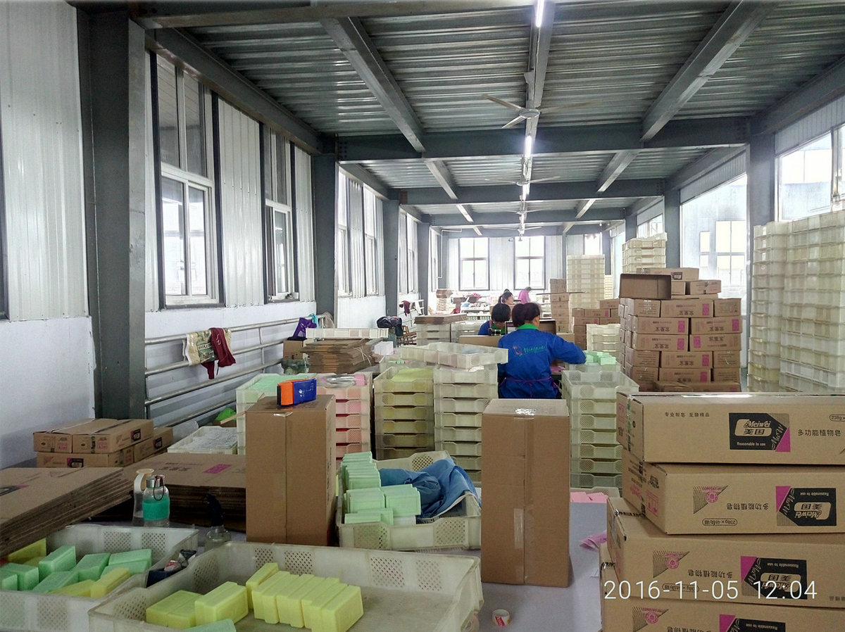Packing Line of soap