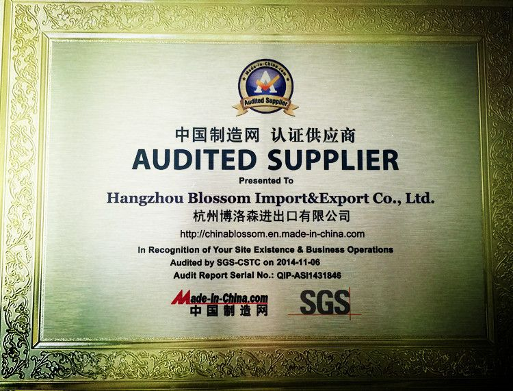 Audited Supplier SGS