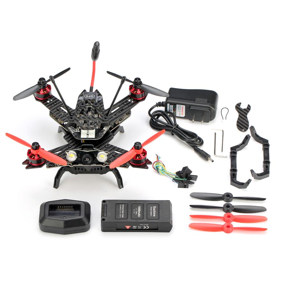 Eachine Assassin 180 Mini Fpv Quadcopter Built-in OSD GPS Naze32 with 520tvl Camera Arf
