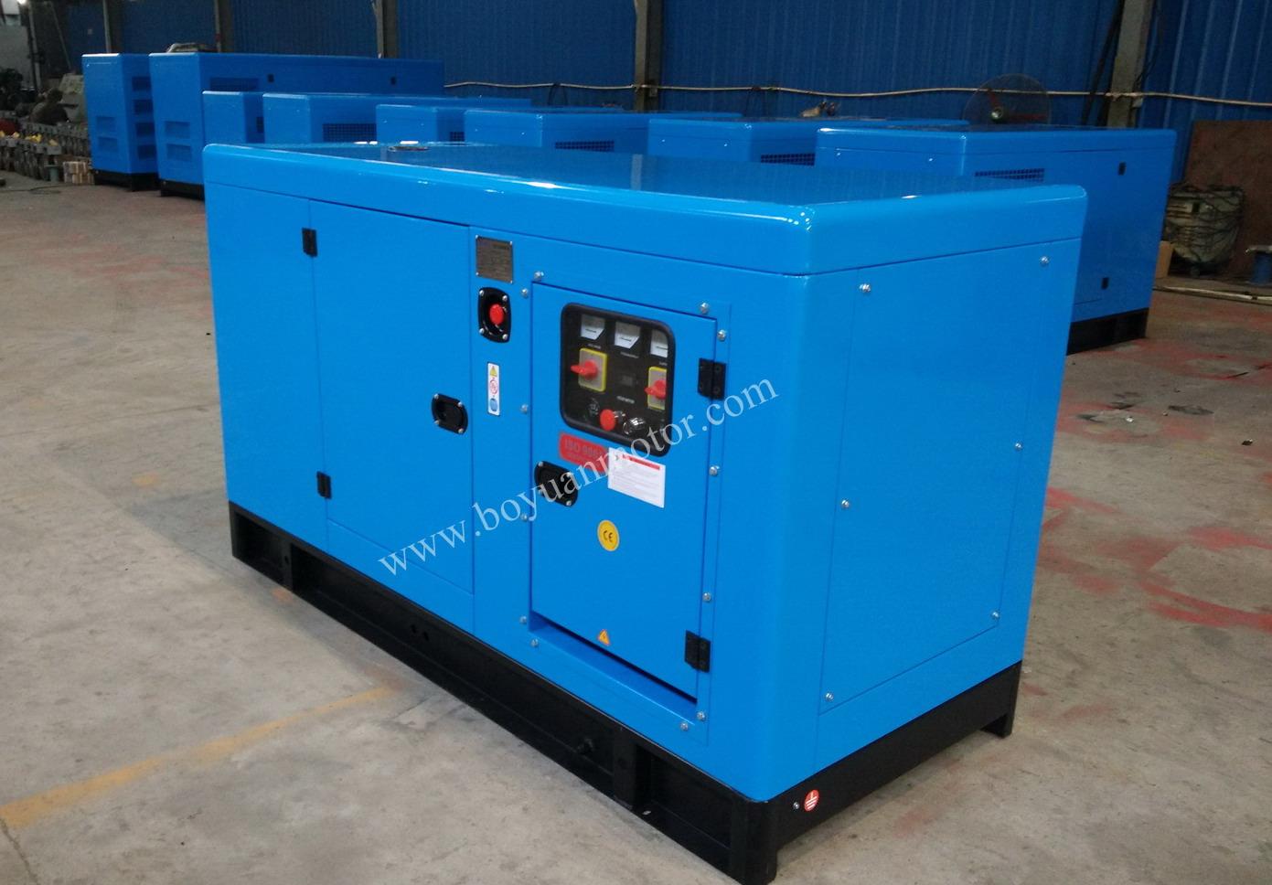 Chinese engine Weichai power generator