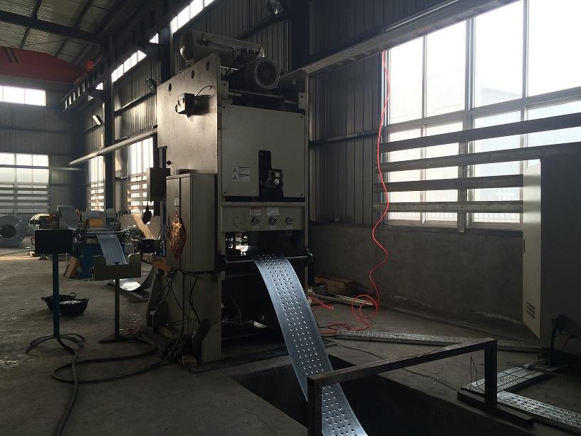 machine for steel profile