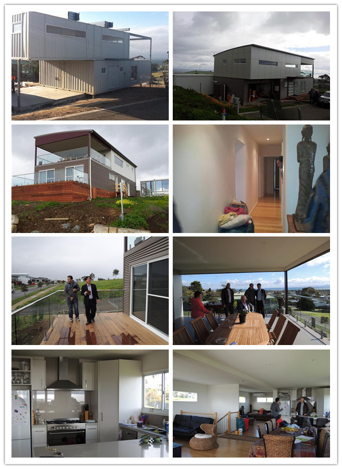 Shipping container villa in australia shanghai star for Villa container